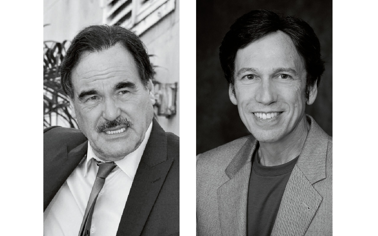 Oliver Stone and Peter Kuznick Talk to Ajay Hothi
