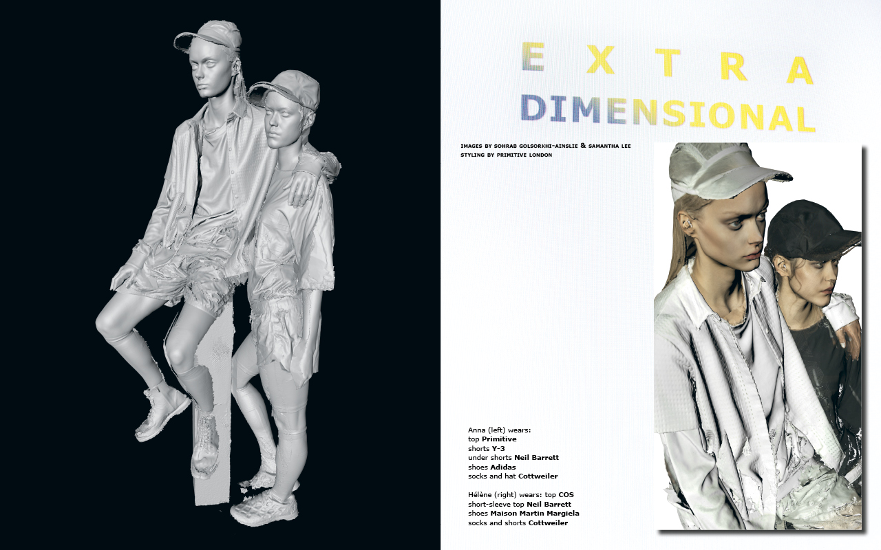 Extra Dimensional #1