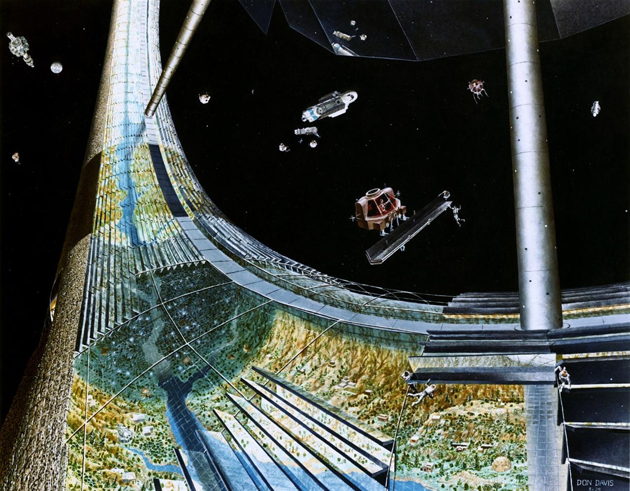 Donald Davis Nasa Space Colony #2