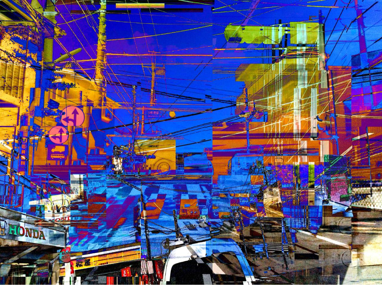 VSNSVSNS Tokyo Glitch Future #4