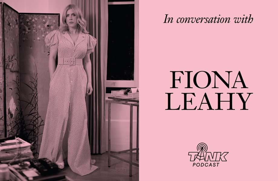 Celebrity party-thrower Fiona Leahy interviewed