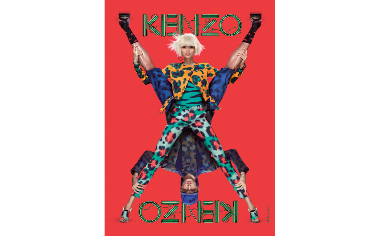 Kenzo SS13 Campaign
